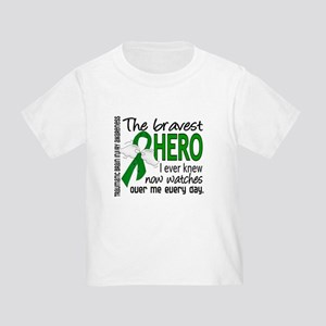 Bravest Hero I Knew TBI Toddler T-Shirt