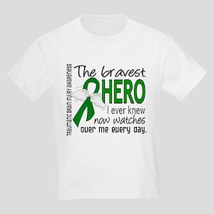 Bravest Hero I Knew TBI Kids Light T-Shirt