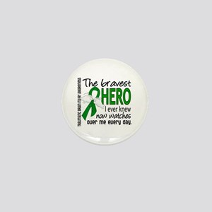 Bravest Hero I Knew TBI Mini Button