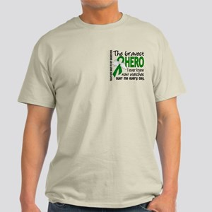 Bravest Hero I Knew TBI Light T-Shirt