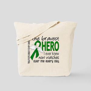 Bravest Hero I Knew TBI Tote Bag