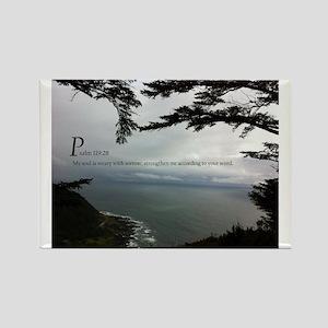 Psalms 119 Rectangle Magnet