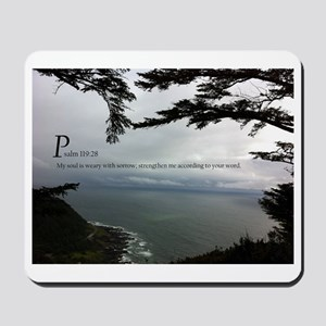 Psalms 119 Mousepad