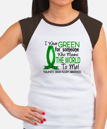 Means World to Me 1 TBI Women's Cap Sleeve T-Shirt