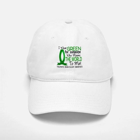 Means World to Me 1 TBI Baseball Baseball Cap