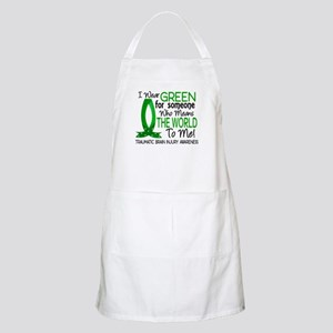 Means World to Me 1 TBI Apron