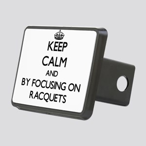 Keep calm by focusing on Racquets Hitch Cover