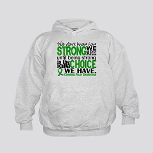 How Strong We Are Cerebral Palsy Kids Hoodie