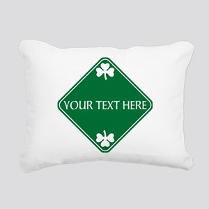 St Patricks Day Border C Rectangular Canvas Pillow