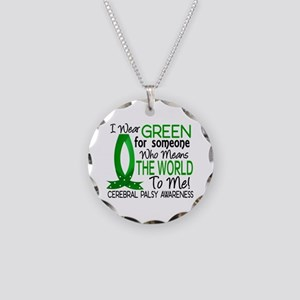 Means World to Me 1 Cerebral Necklace Circle Charm