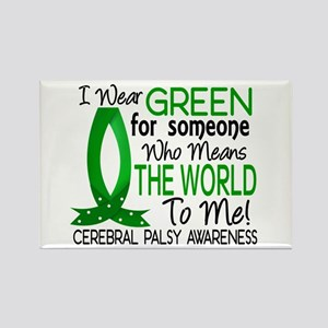 Means World to Me 1 Cerebral Pals Rectangle Magnet
