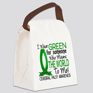 Means World to Me 1 Cerebral Pals Canvas Lunch Bag