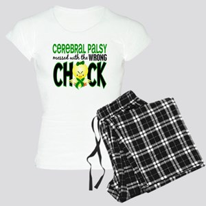 Messed With Wrong Chick 1 Cerebral Palsy Women's L