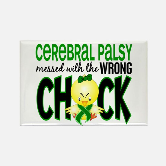 Messed With Wrong Chick 1 Cerebral Palsy Rectangle