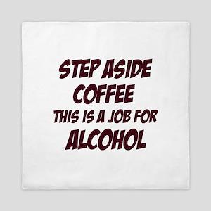 Funny alcohol designs Queen Duvet