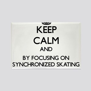 Keep calm by focusing on Synchronized Skating Magn