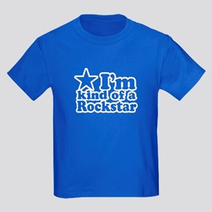 I'm Kind of a Rockstar Kids Dark T-Shirt