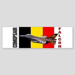 COMOPSAIR F-16 Falcon Bumper Sticker