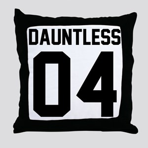 Dauntless Four Throw Pillow