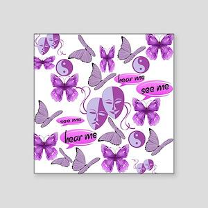 Invisible Illness Collage Sticker