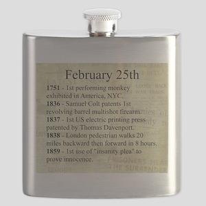 February 25th Flask