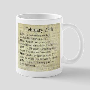 February 25th Mugs