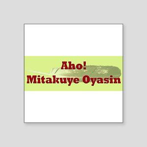 allmyrelationsbumpersticker Sticker