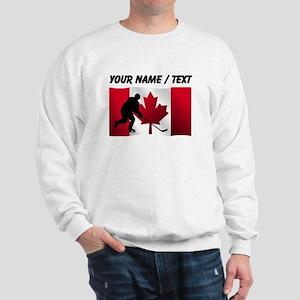 Custom Hockey Canadian Flag Jumper