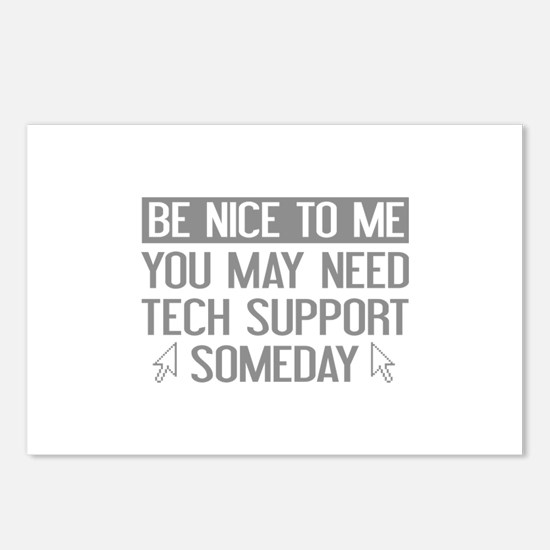 Be Nice To Me Postcards (Package of 8)