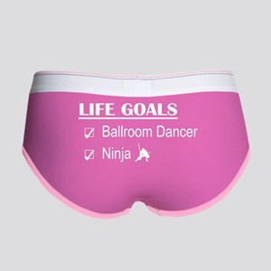 Ballroom Dancer Ninja Life Goals Women's Boy Brief