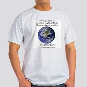 Ban Planet Earth Light T-Shirt