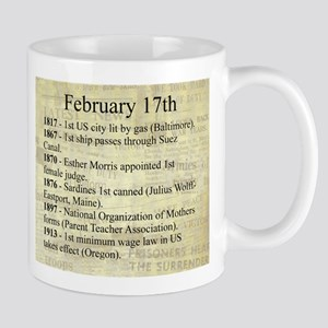 February 17th Mugs