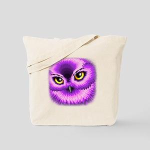 Pink Owl Eyes Tote Bag