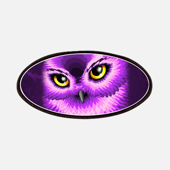 Pink Owl Eyes Patches