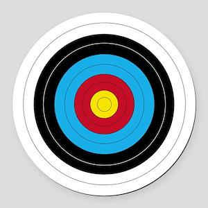 Archery Target Round Round Car Magnet