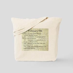 February 9th Tote Bag