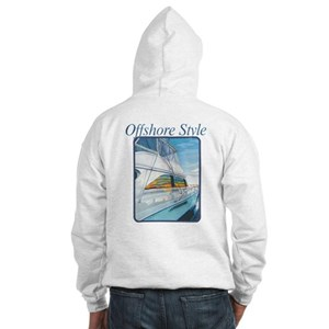 Offshore Style Hooded Sweatshirt