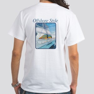 Offshore Style White White T-Shirt