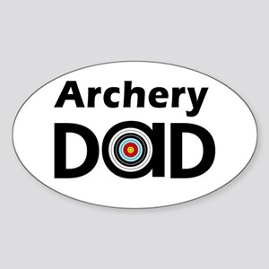Archery Dad Sticker (Oval)