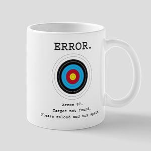 Error - Target Not Found Mugs