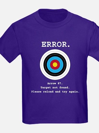 Error - Target Not Found T