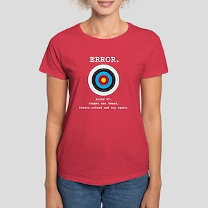 Error - Target Not Found Women'S Dark T-Shirt