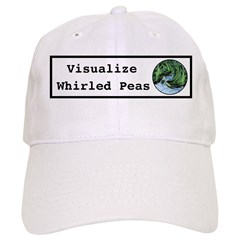 Visualize Whirled Peas Baseball Baseball Cap