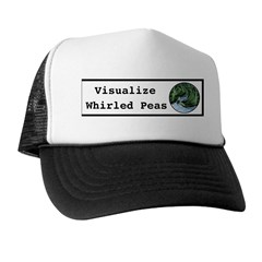 Visualize Whirled Peas Trucker Hat