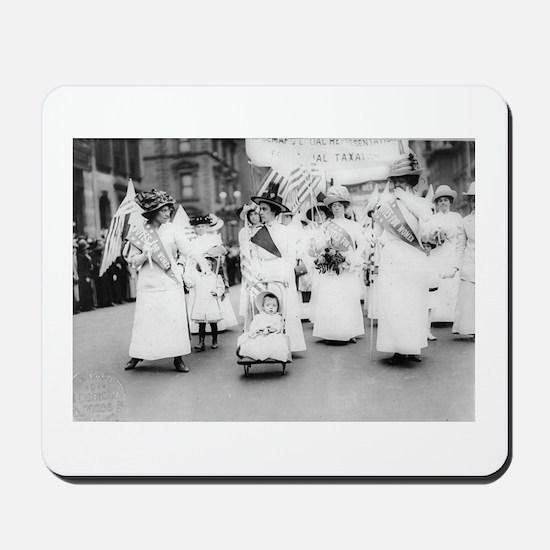 Suffragettes Mousepad