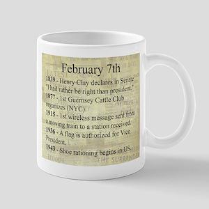 February 7th Mugs