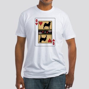 Queen Buhund Fitted T-Shirt