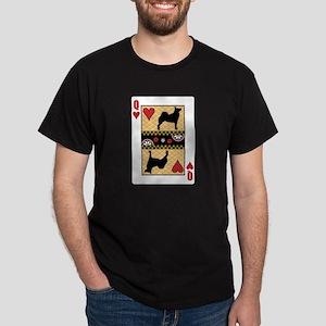 Queen Buhund Dark T-Shirt
