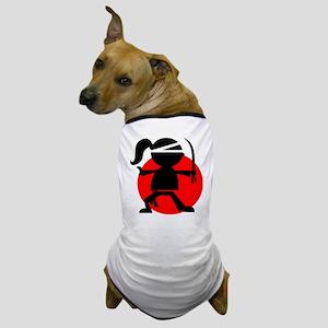 Ninja Girl Dog T-Shirt