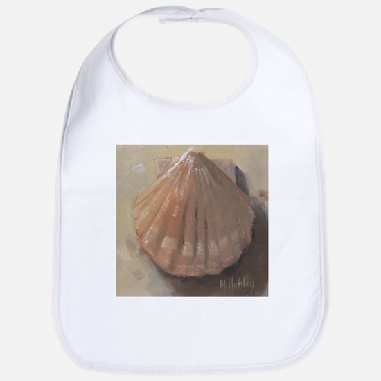 Scallop Shell Beach Seashell Bib